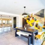 intérieur moderne maison contemporaine