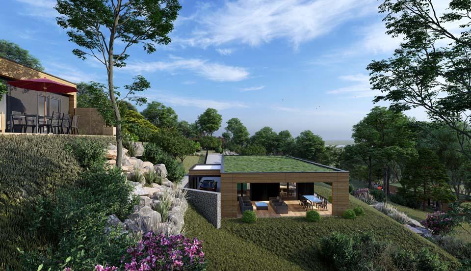 maison toit plat Haut-Rhin
