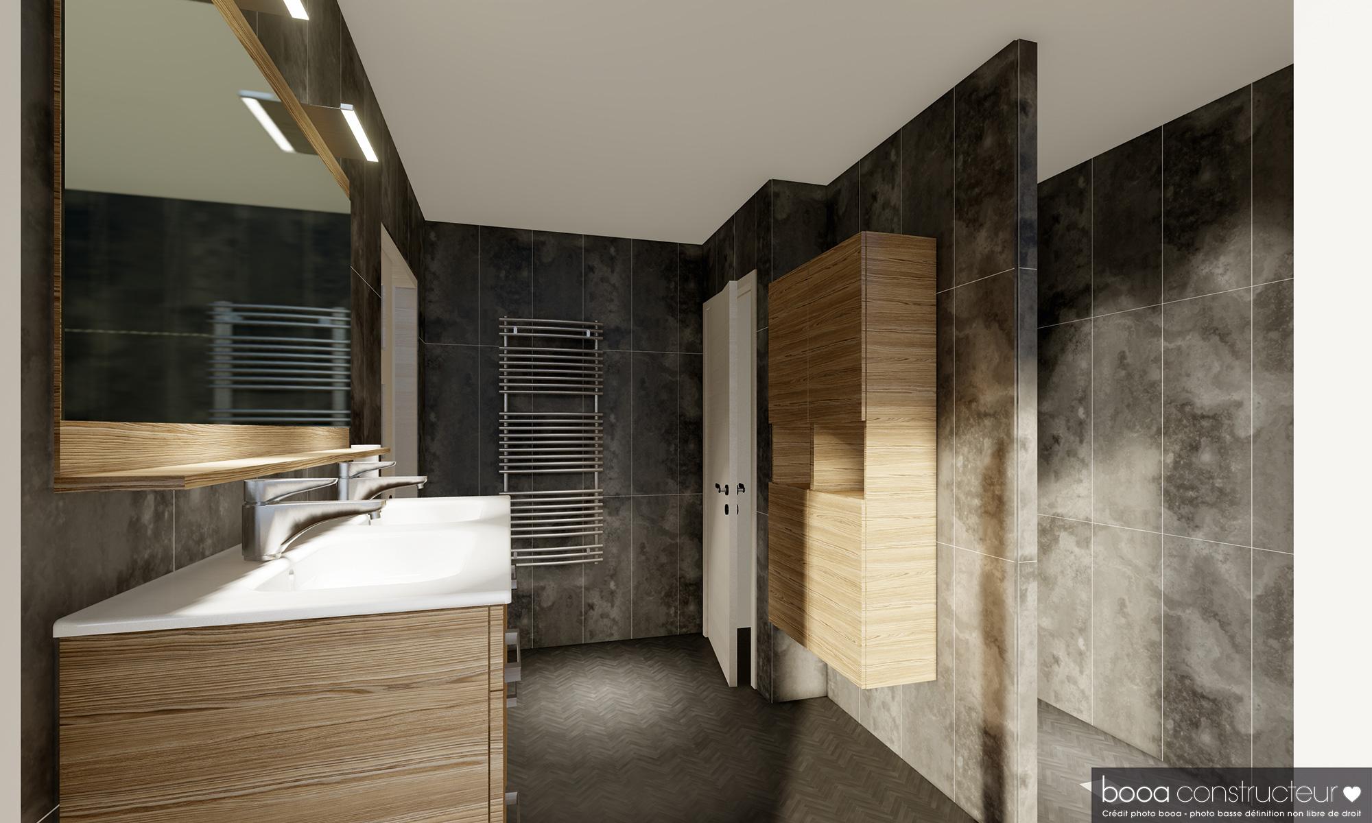 salle de bain moderne et stylée