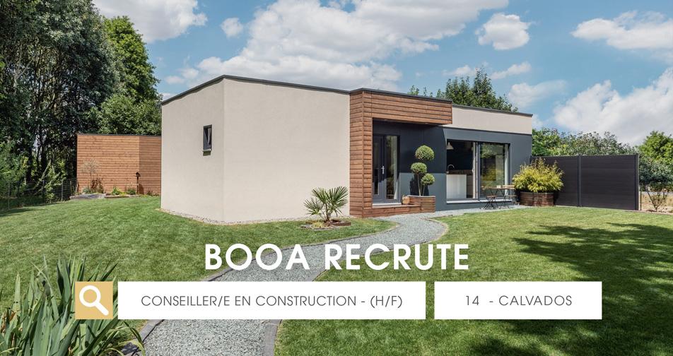Offre d'emploi en Normandie – un/une conseiller/ère en construction