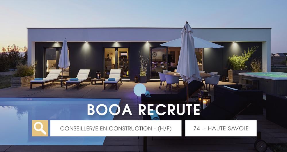 offre d'emploi booa Chambéry - Haute-Savoie