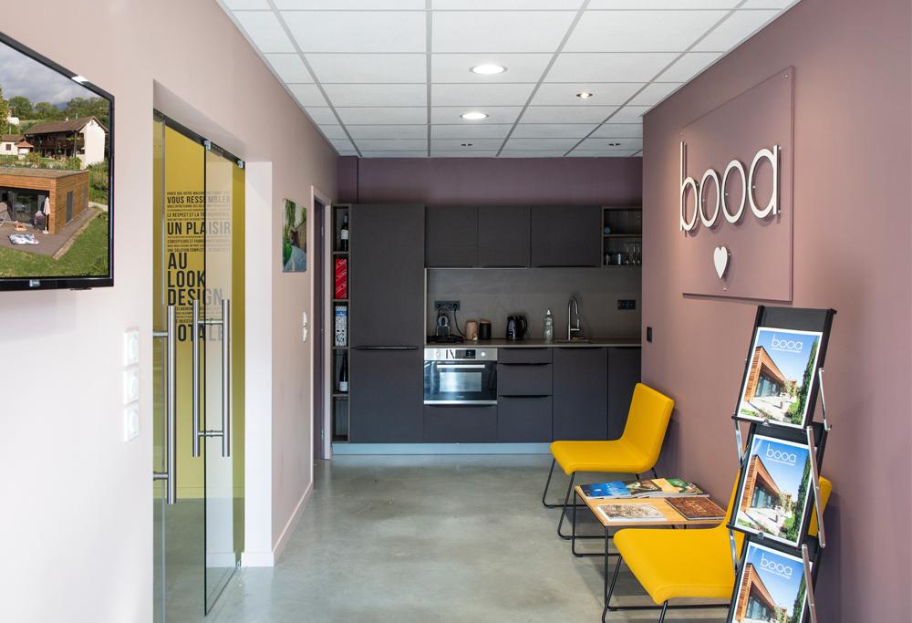 agence booa Chambéry - constructeur maisons ossature bois
