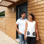 M. et Mme benouaden. Maison individuelle: chantier achevé de Booa/BURGER, en Isère.