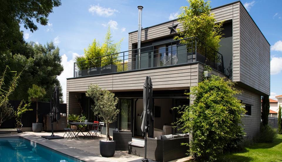 une maisons respectueuse de l'environnement