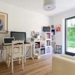 bureau dans une maison bois