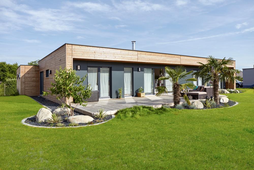 maisons à ossature bois éco-responsables