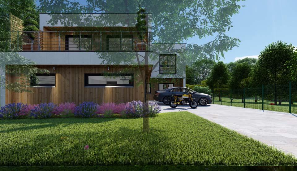 maison à ossature bois en Seine-et-Marne