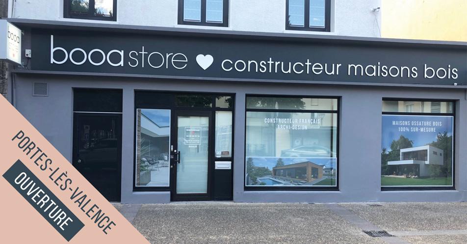 ouverture de l'agence booa dans la Drôme