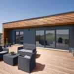 maison à ossature bois design