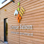 local professionnel contemporain en bois
