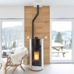 Intérieur cocooning maison en bois