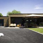 maison plain-pied en bardage bois