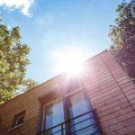 maison ossature bois sous le soleil